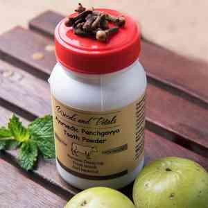 Ayurvedic Panchgavya Tooth Powder