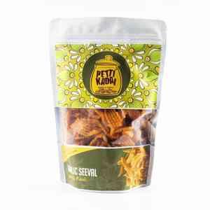 Crunchy Garlic Seeval