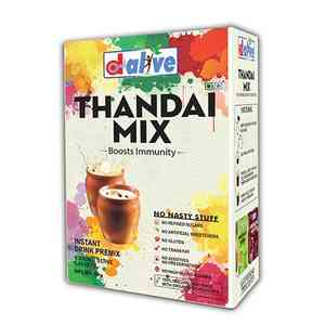 Refined Sugar-Free Thandai Mix - Instant Drink Premix
