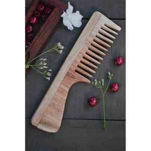 Wood Handle Neem Comb