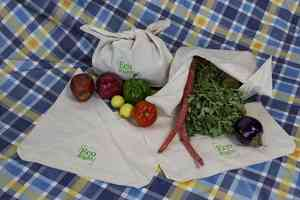 Reusable Cotton Bento Bag