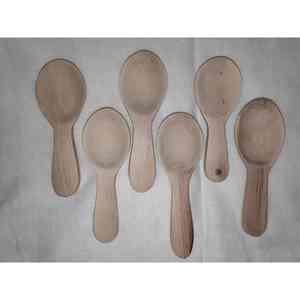Handcrafted Wooden Table Spoons