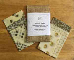 Certified Organic Beeswax Food Wraps