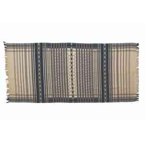 Handwoven Striped Cotton Throw