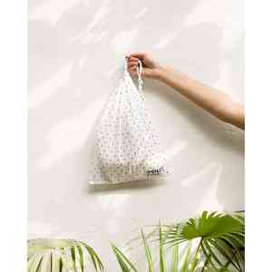 Upcycled Multipurpose Drawstring Bag