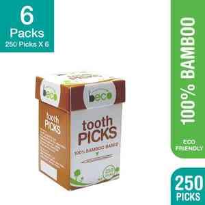 Eco-Friendly Bamboo Toothpicks