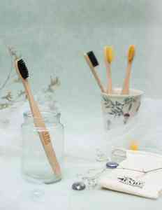 Eco-Friendly Compostable Bamboo Toothbrush