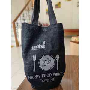 Steel Travel Cutlery Kit