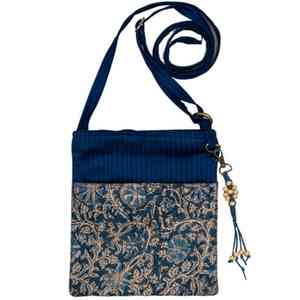 Kalamkari Quilted Sling Bag