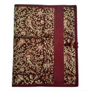 Maroon Cloth Folder