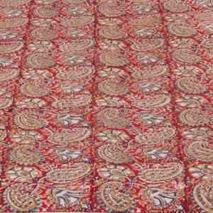 Crimson Single Bed Spread
