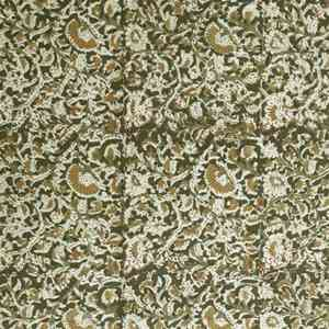 Solid Olive Green Double Bed Spread