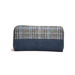 Vegan Blue Clutch