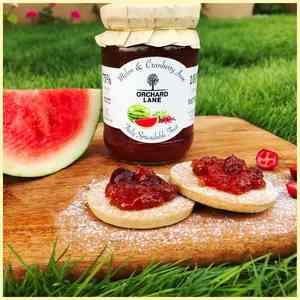 Melon & Cranberry Jam