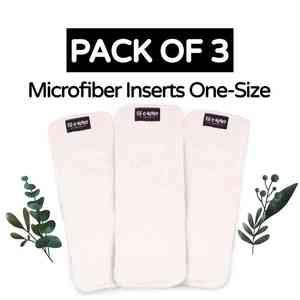Microfiber one-size Diaper