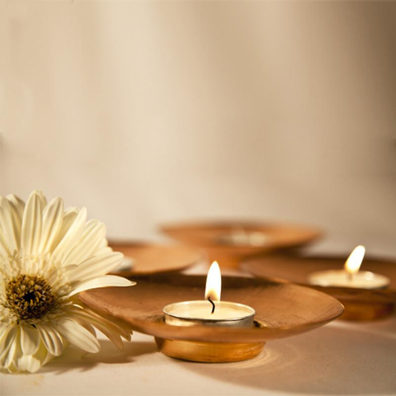 Circle of Light' Copper Tealight Holders