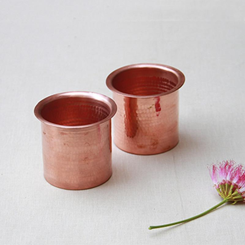 Copper Linear Tumbler