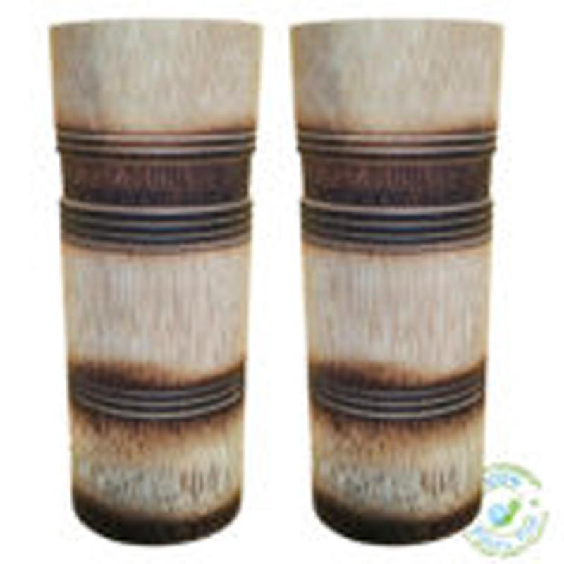 Handcrafted Burnt & Engraved Finish Bamboo Tumbler