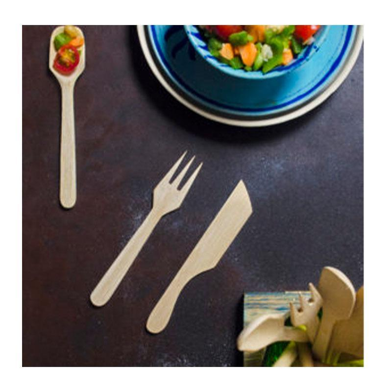 Reusable Bamboo Cutlery Kit With Bamboo Straw
