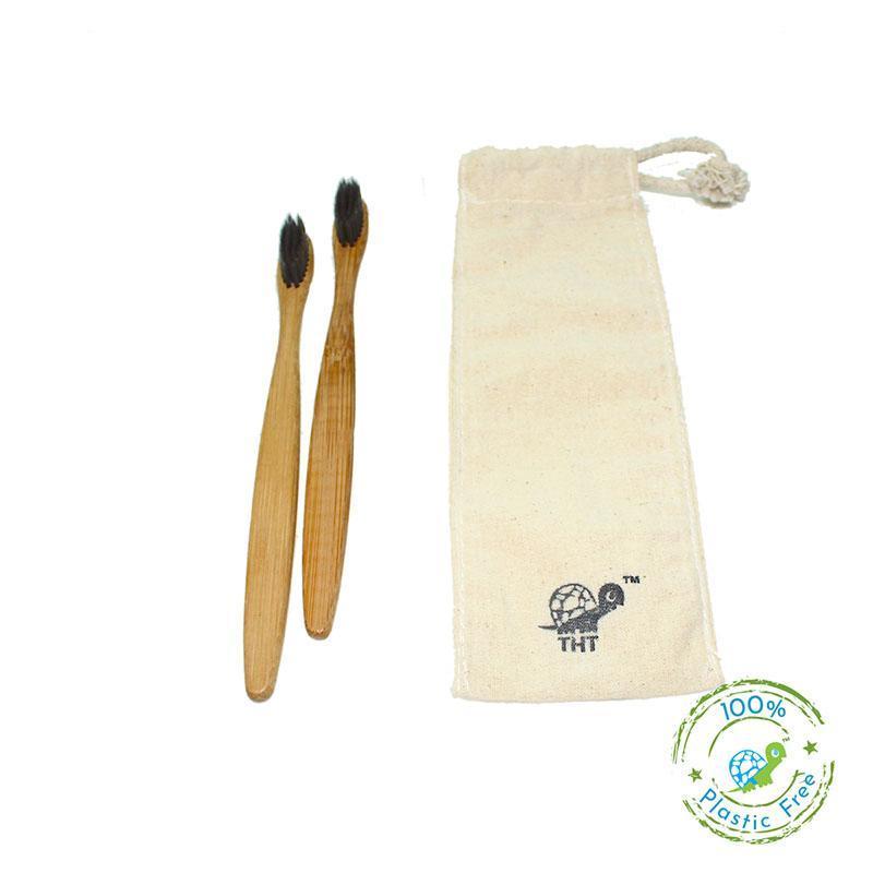 Charcoal Bamboo Toothbrush