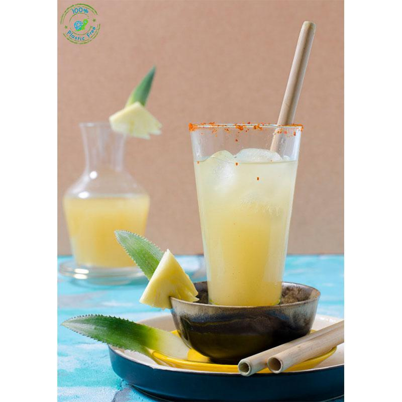 Reusable Bamboo Straws with Free Straw Cleaner