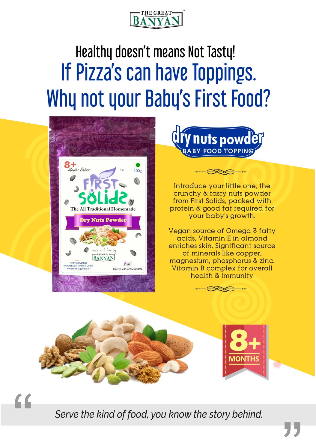 Baby Dry Nuts Powder