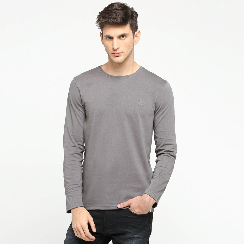 Cotton Polo Neck T-Shirt