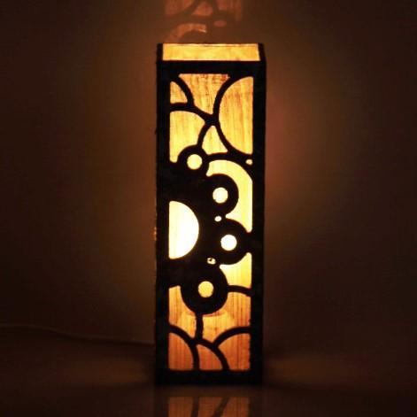Tetrapak & Banana Fibre Solar Flare Table Lamp