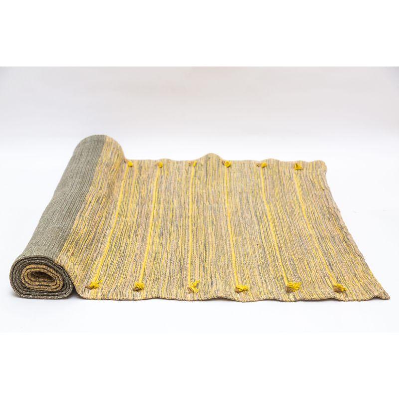 Handwoven Herbal Cotton Yoga Mat