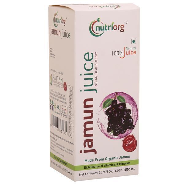 Vegan Jamun Juice