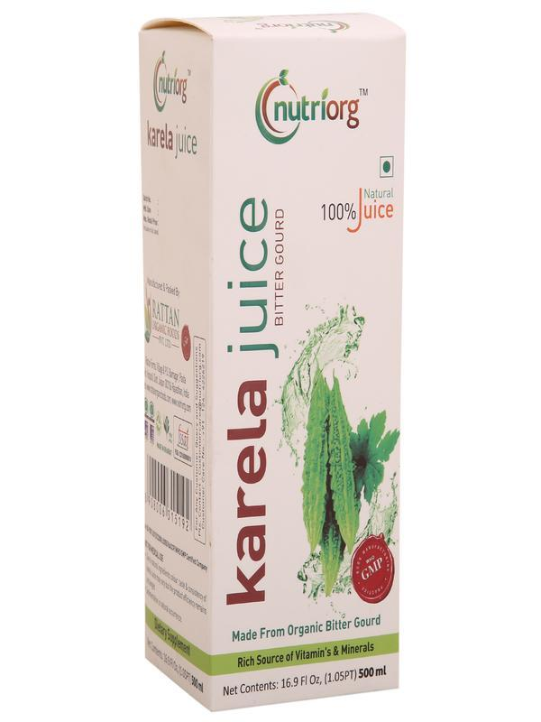 Vegan Bittergourd Juice