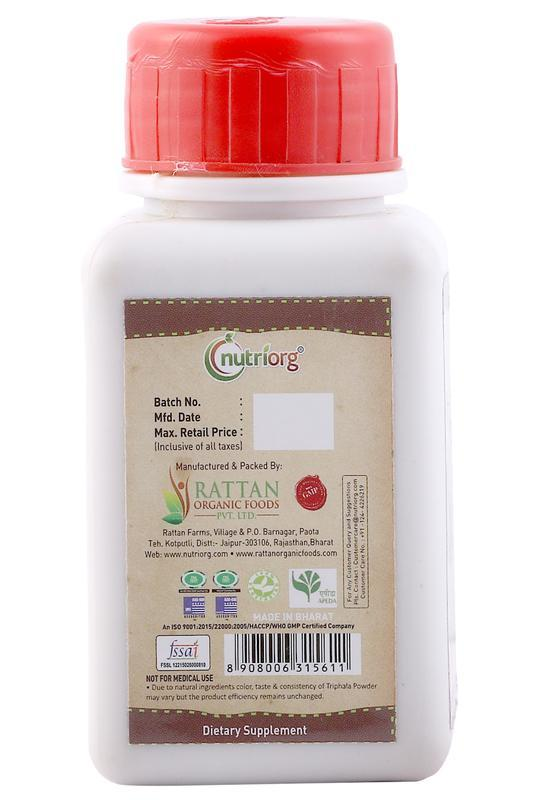 Natural Triphala Powder