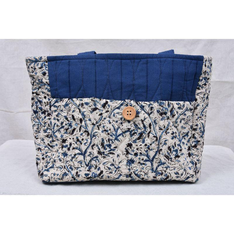 Ikkat Cotton Bag