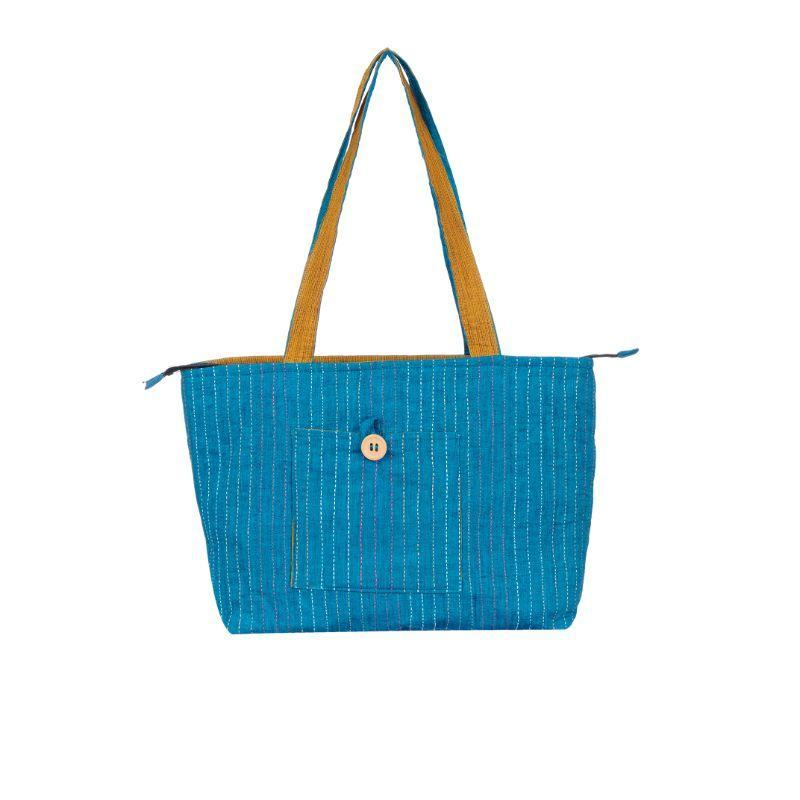 Blue Cauvery Bag