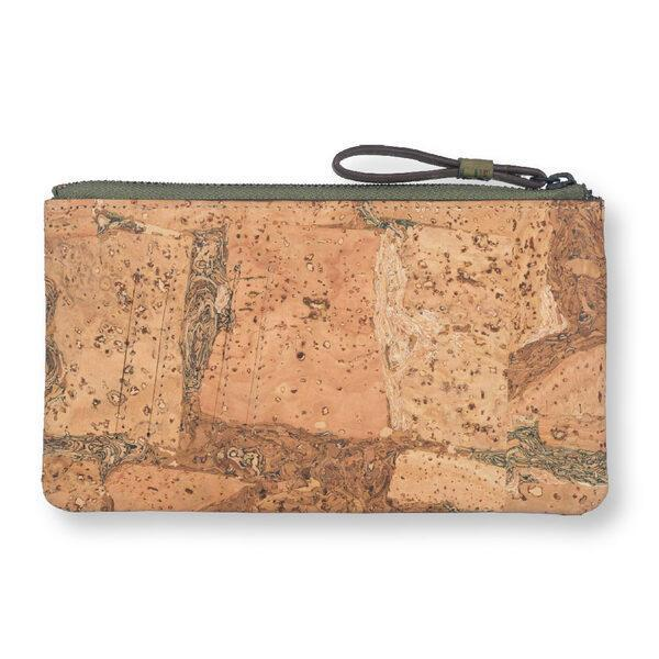 Cork Fabric Women Minimal Wallet