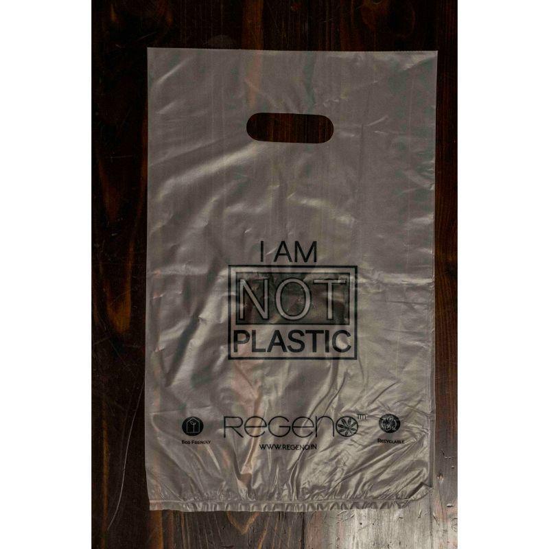 Biodegradable D-Cut Shopping Bag