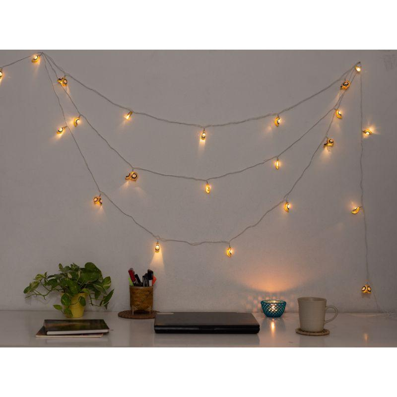 Crochet Fairy Lights