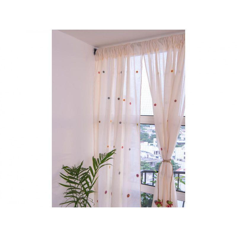 Crochet Window Curtain