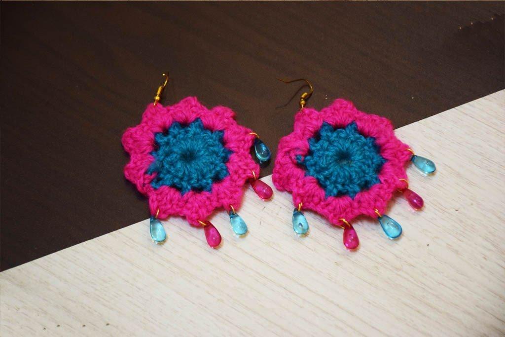 Handcrafted Jaal Earrings