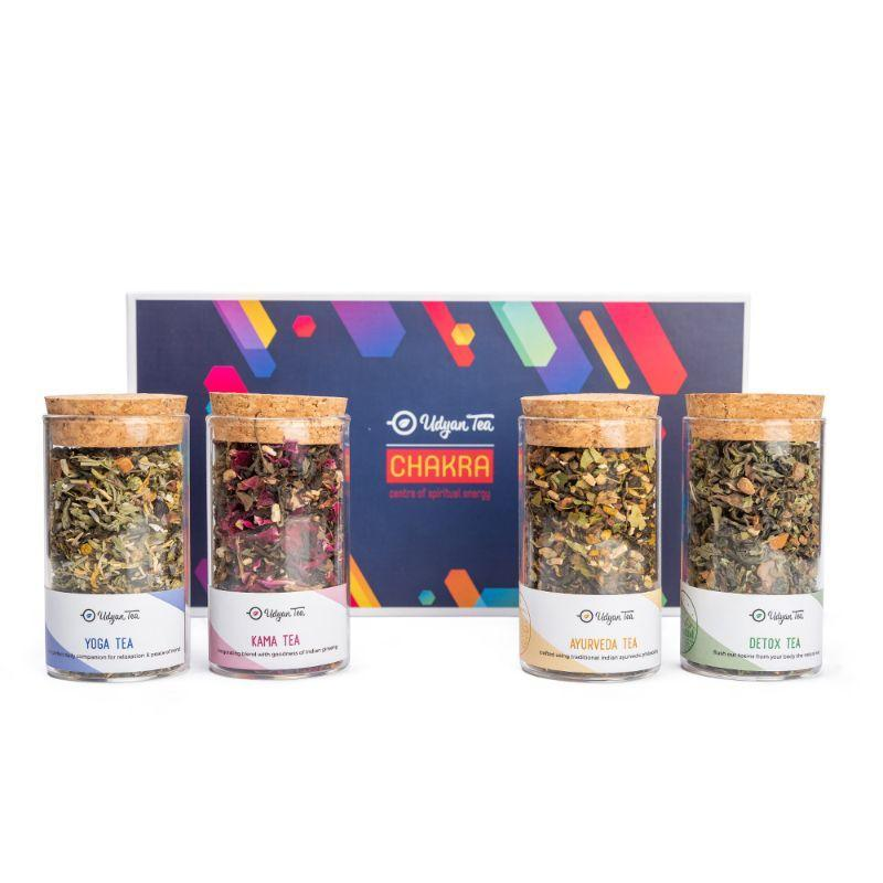 Chakra Gift Pack - Pack of 4 Health Teas