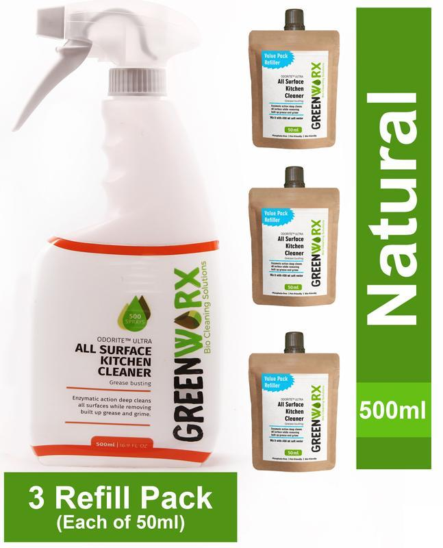 All Surface Kitchen Cleaner Combo