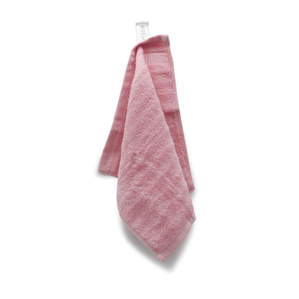 Pink Bamboo Face Towel