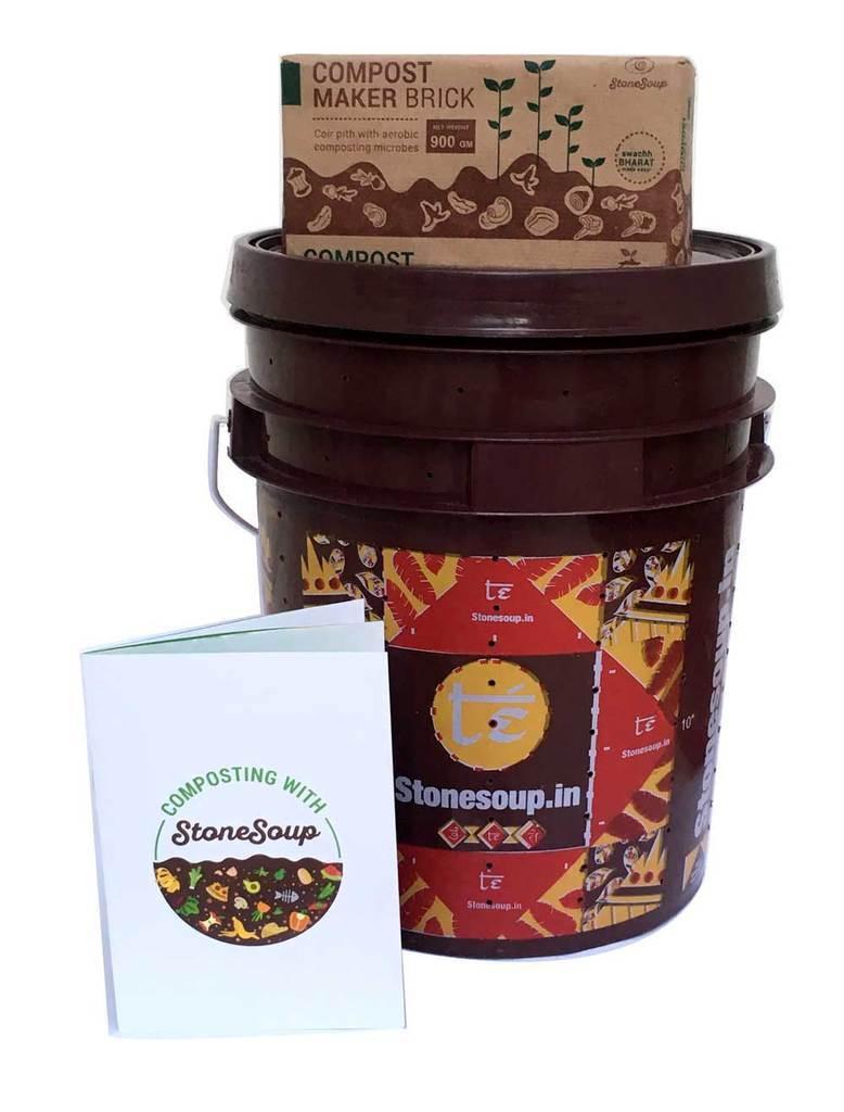 Te Stackable Aerobic Home Composting Kit