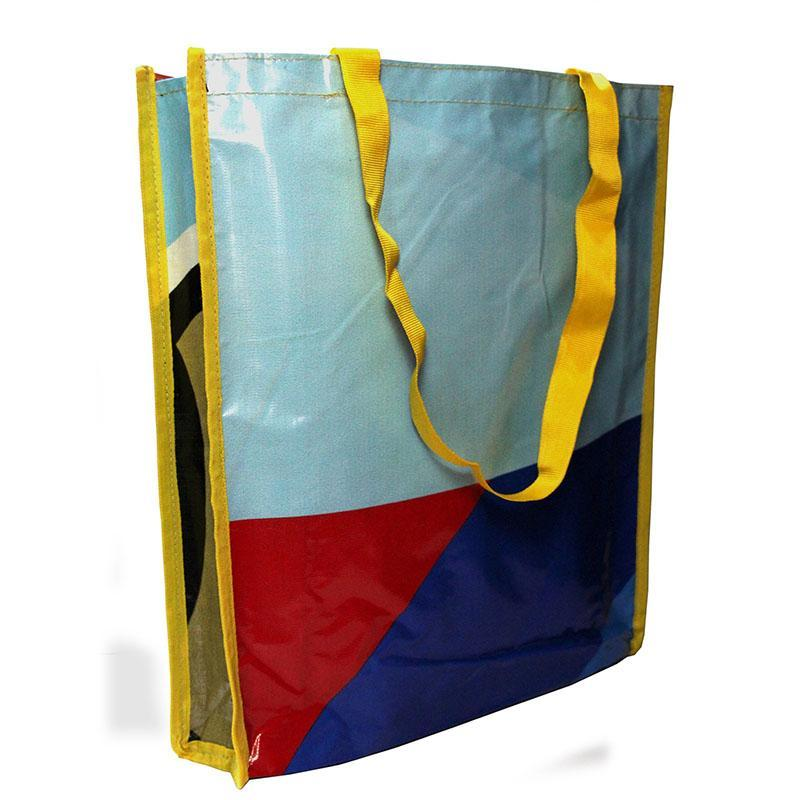 Upcycled Flex Banner Grocery Bag