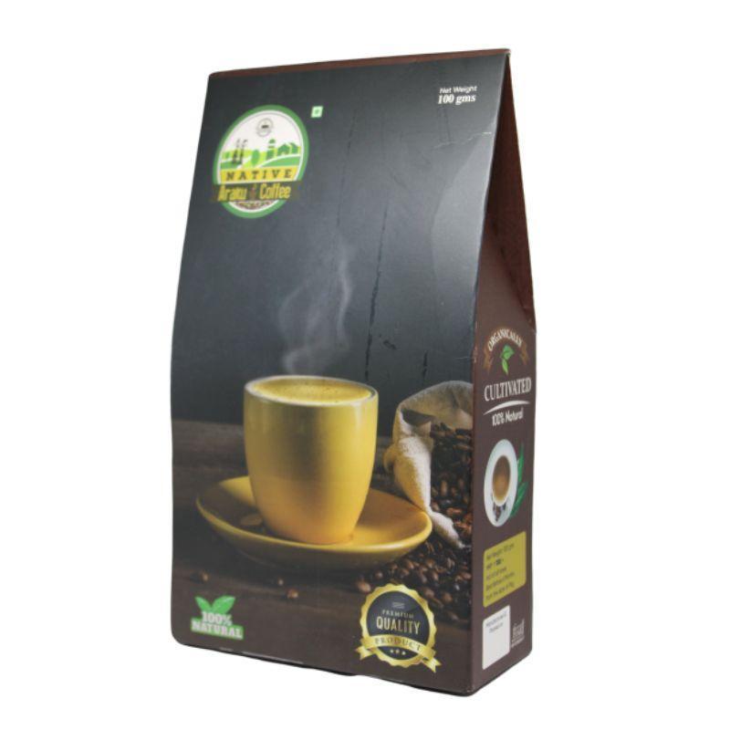 Organically cultivated Native Araku coffe Arabica