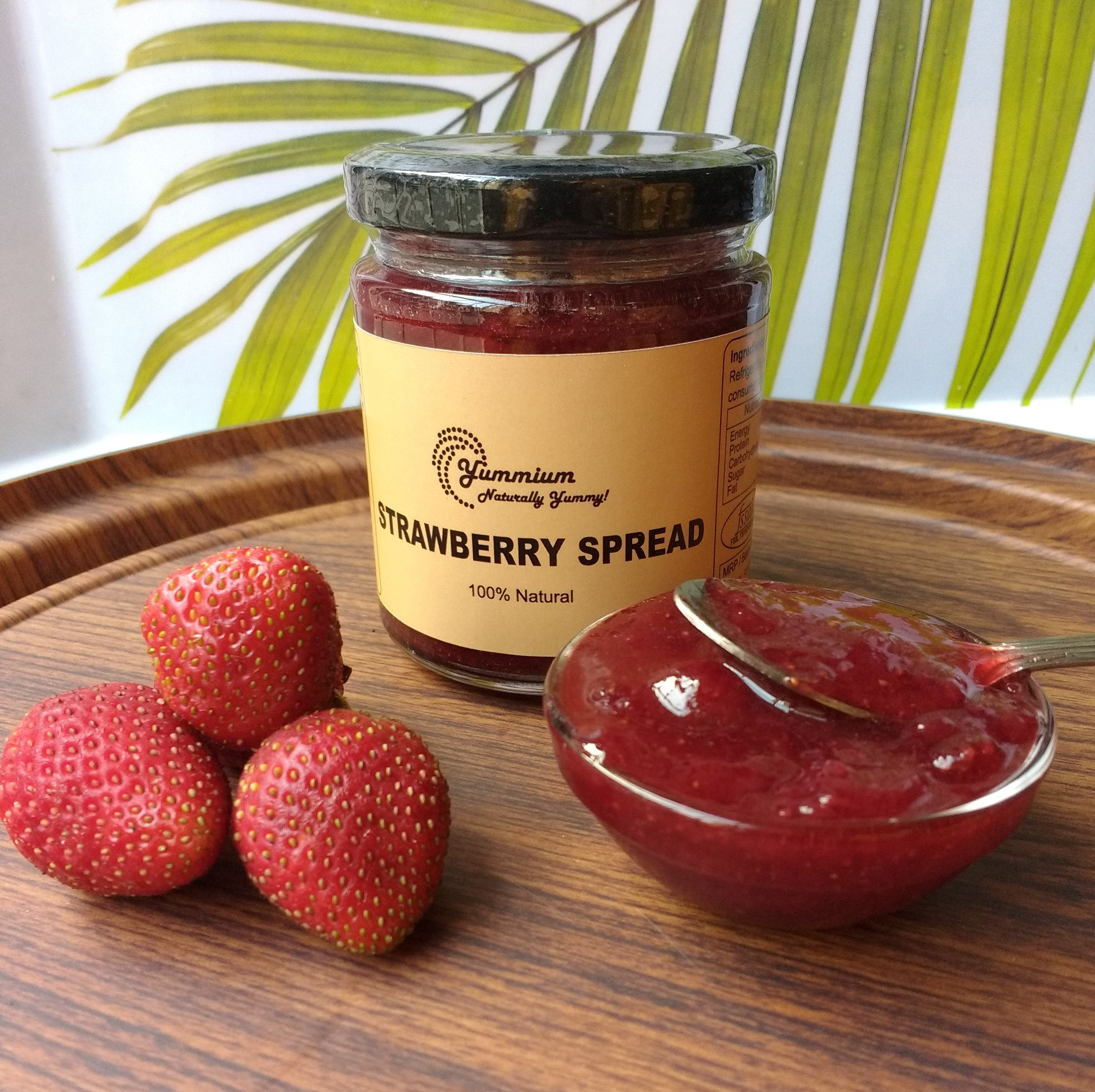 All-Natural Strawberry Spread