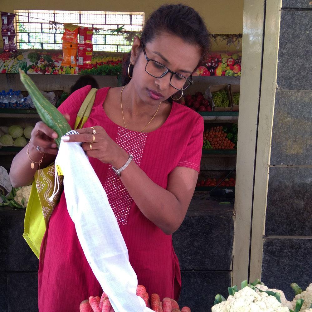 Reusable Vegetable Refrigeration Bags