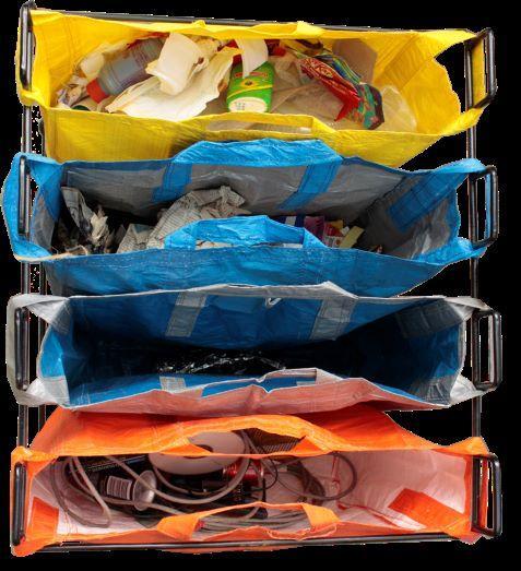 Dry Waste Segregation Stand