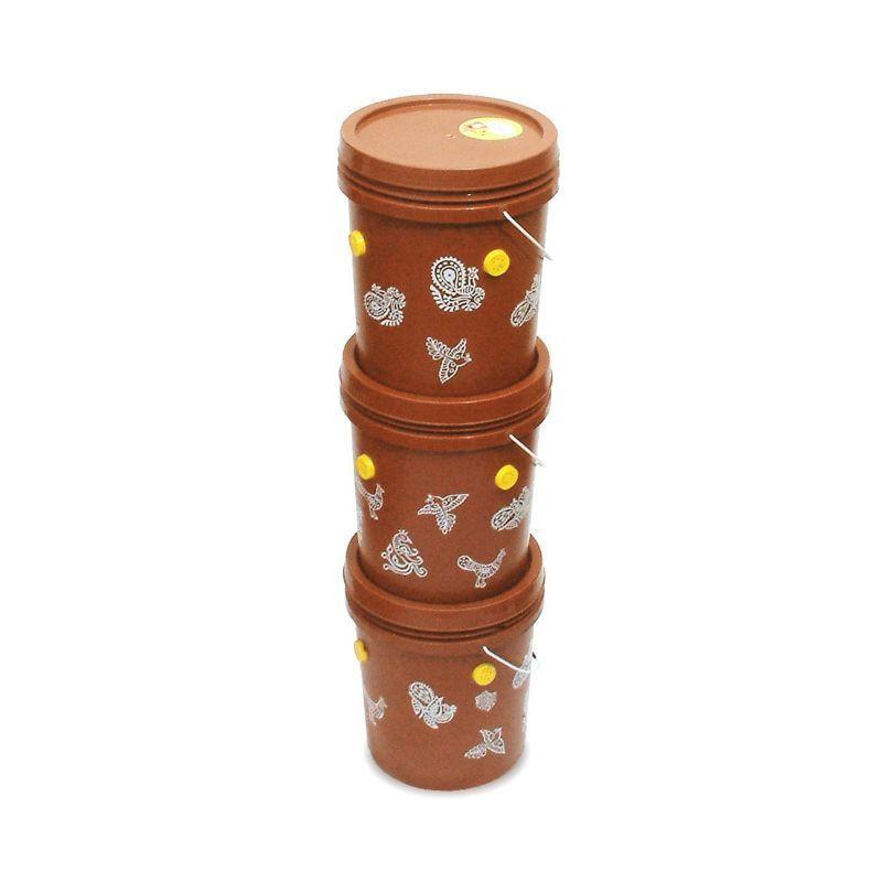 Gobble Junior 3-Tier Home Composting Kit