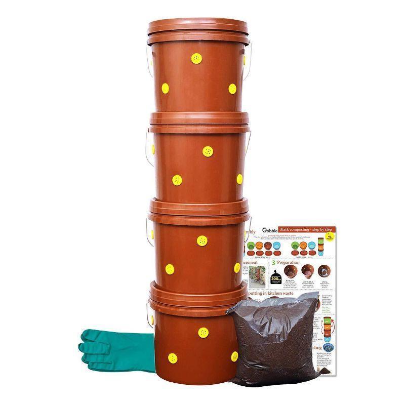 Gobble Senior 4-Tier Home Composting Kit